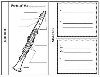 Music Instruments: Instruments of the Orchestra Foldables: BUNDLE