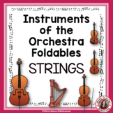 Music Instruments of the Orchestra Foldables: STRINGS