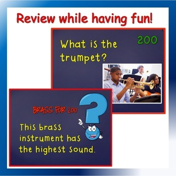 Instruments of the Orchestra Powerpoint Game