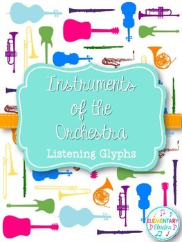Instruments of the Orchestra Listening Glyphs