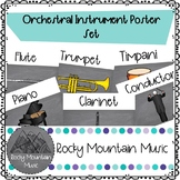 Instruments of the Orchestra Poster Set