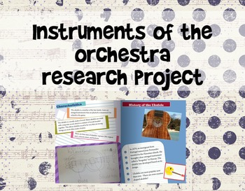 Instruments of the Orchestra Research/eBook Project