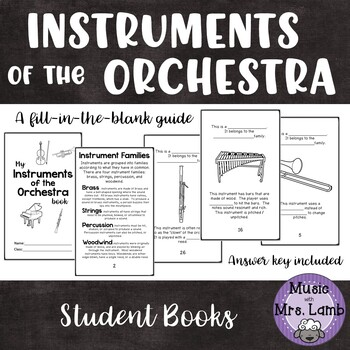 Instruments of the Orchestra Student Book