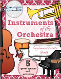 Instruments of the Orchestra Supplemental Activities Bundle