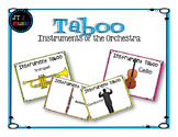 Instruments of the Orchestra Taboo