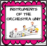 Orchestra Instruments: Introduction & Research Project (Distance Learning)