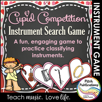 Instruments of the Orchestra Music Valentine's Game - Cupi