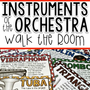 Instruments of the Orchestra: Walk the Room