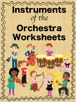 Instruments of the Orchestra Word Search