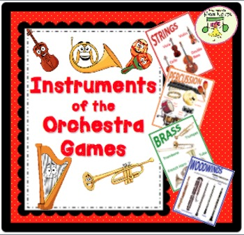 Instruments of the Orchestra—Lesson Plan, Activities, Games, and Assessments