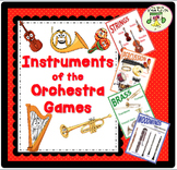 Instruments of the Orchestra Bundle—Lesson Plans, Activities, Games, Assessments