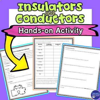 Insulators and Conductors Hands-on Electricity Activity