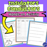 Insulators and Conductors Hands on Electricity Activity