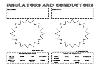 Insulators conductors and polarization worksheet answers