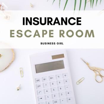 Insurance Escape Activity