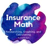 Insurance Math Worksheet: Research, Graph, Calculate