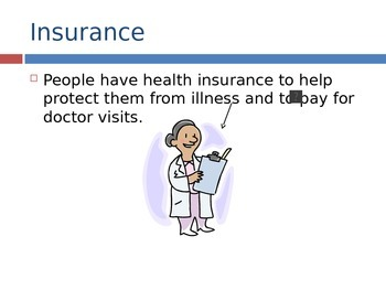 Insurance PowerPoint- High School Special Education