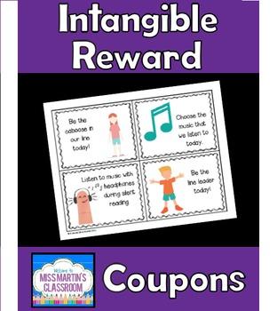 Intangible Reward Privilege Coupons