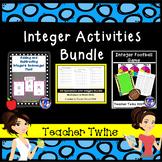 Integer Activities Bundle