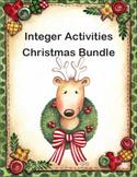 Integer Activities Christmas Bundle