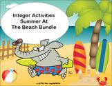 Integer Activities Summer At The Beach Bundle