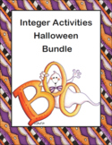 Integer Activities Halloween Bundle