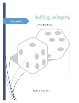 Integer Addition Dice Game