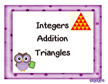 Integer Addition Triangles