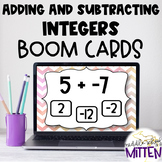 Adding and Subtracting Integers Boom Cards