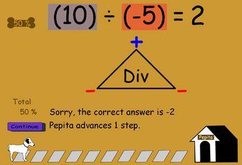 Integer Arithmetic - Individualized Practice