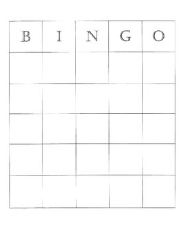 Integer BINGO ~ Addition and Subtraction
