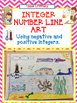 Integer BUNDLE - Integer Art & Integer Number Line Activity