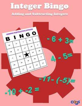 Integer Bingo: Adding and Subtracting Integers