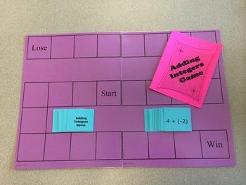 Integer Board Games Set
