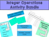 Integer Bundle - Activities and Number Line