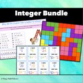 Integer Bundle: Ordering, Adding, Subtracting, Multiplying
