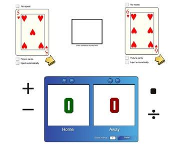 Integer Card Game