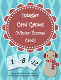 Integer Card Games (Winter-Themed Cards)