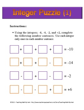 Integer Centers - Set #2