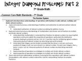 Integer Diamond Problems_Part 2