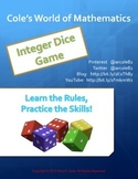 Integer Dice Game