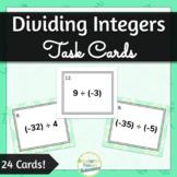 Integer Division Task Cards