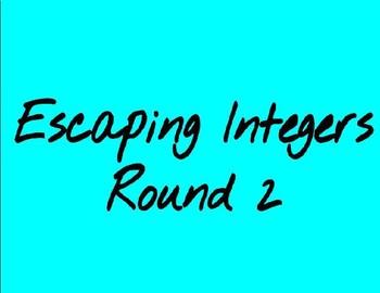 Integer Escape Room Round 2