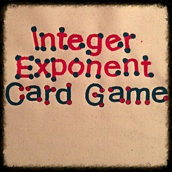 Integer Exponent Card Game