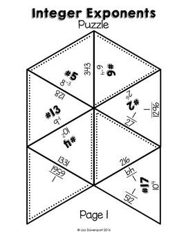 Integer Exponents (Puzzle)