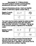 Integer Expression Match Up