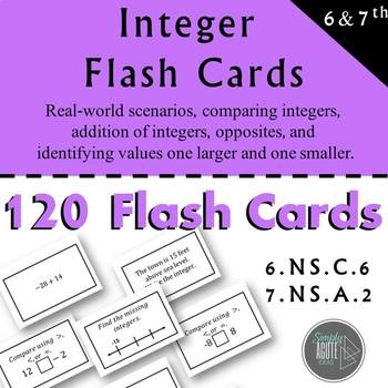 Integer Flashcards