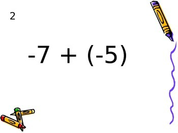 Integer Fact Fluency