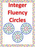 Integer Fluency Circles