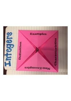 Integer Folding paper (Marzano strategy)